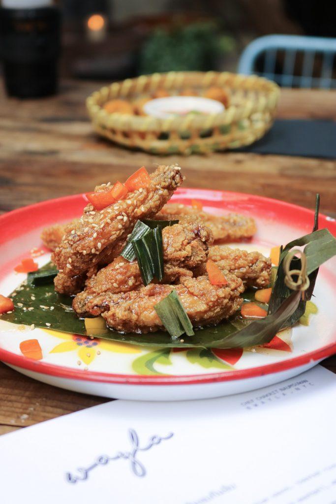 Chicken Wings (Pekk Gai Tod) Wayla NYC