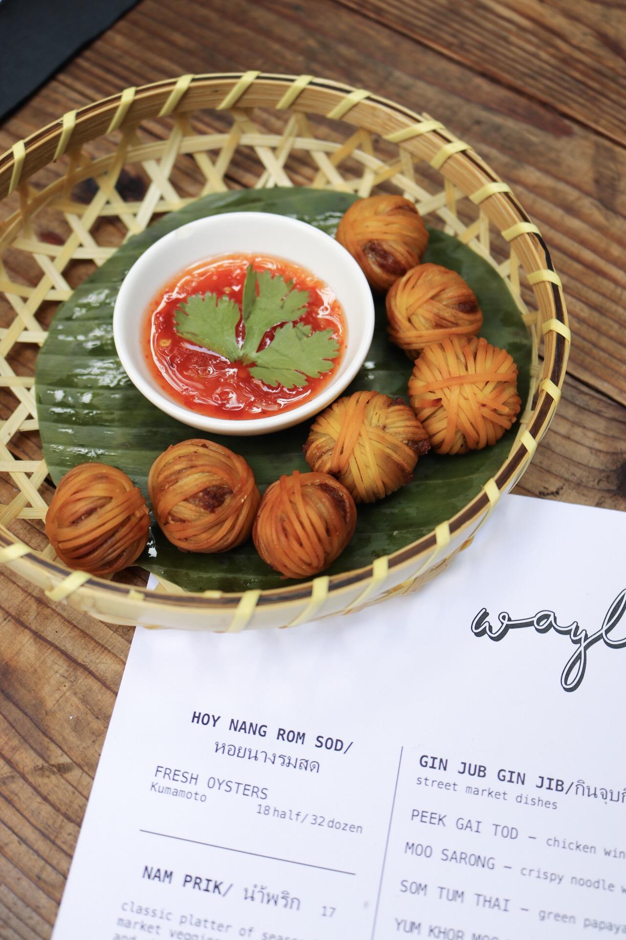 Meatballs (Moo Sarong) Wayla NYC