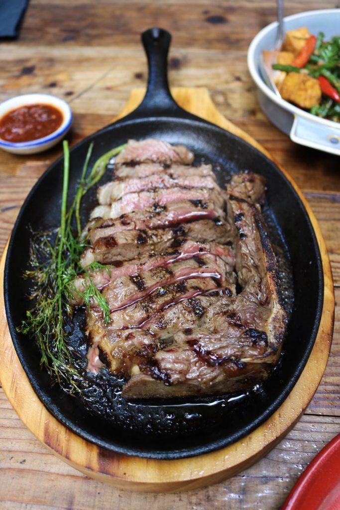 Dry-Aged NY Strip Steak (Nua Yang) Wayla NYC
