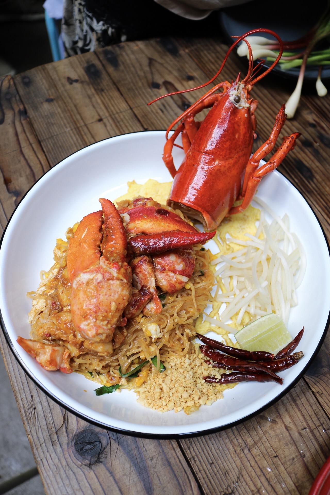 Sen Chan Pad Lobster Wayla NYC