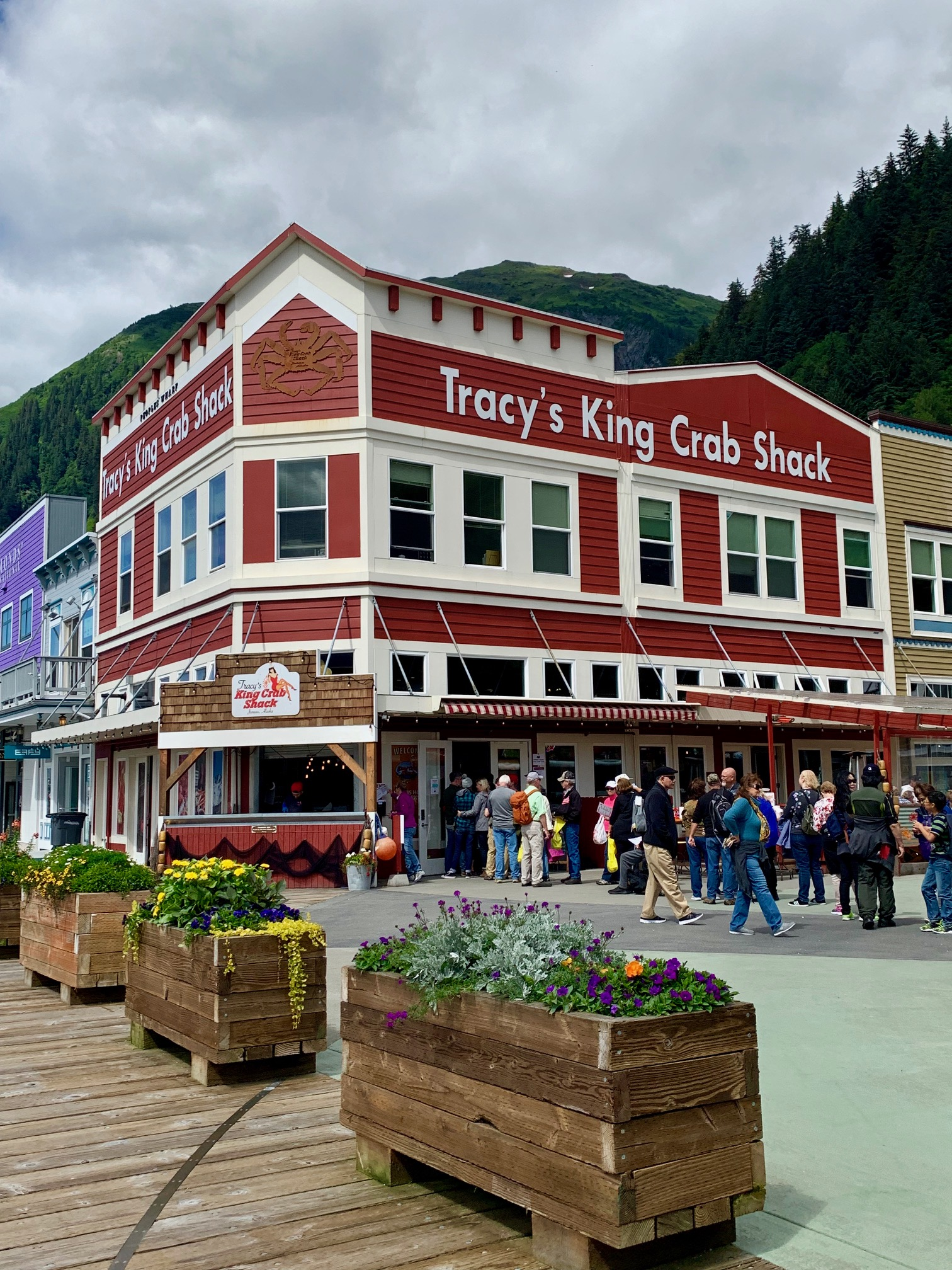 Tracy's King Crab Shack - Port of Juneau