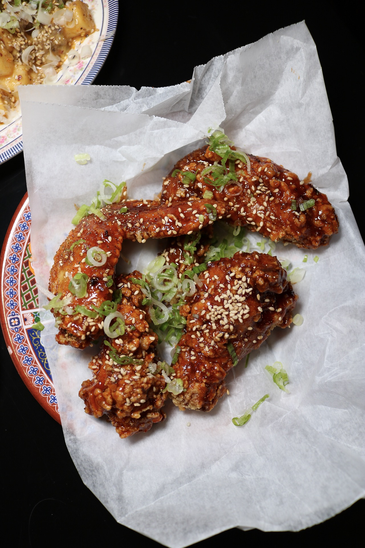 Shin Ramen Spiced Chicken Wings