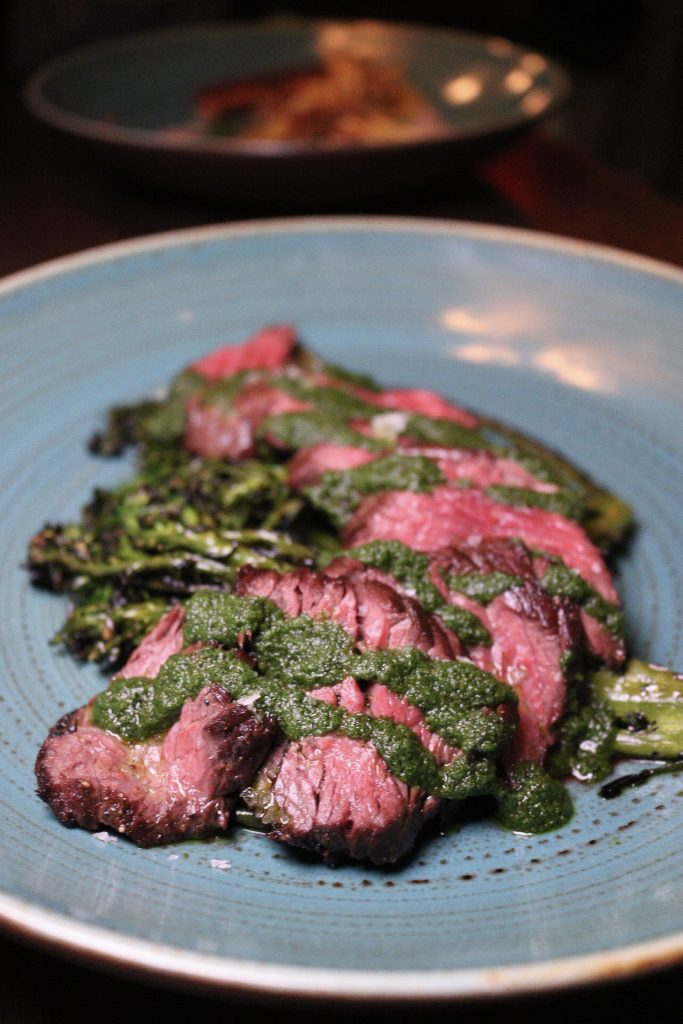 Grilled Hanger Steak Ten Hope BK