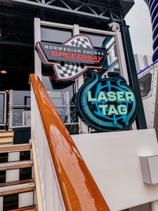 Norwegian Encore Speedway and Laser Tag