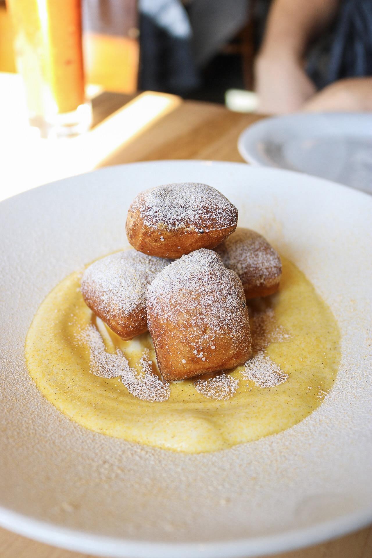 Bar Dough - Bombolini (red squash, vanilla bean ricotta)